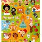 Crux Japan Dream of Life Sticker Sheet Kawaii