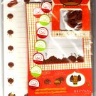 San-X Japan Amaguri Chan Letter Set with Stickers and Diecut Erasers 2001 Kawaii