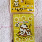 Sanrio Japan Coro Coro Kuririn Hamster Sticker Booklets Set of 3 in Sleeve 2000 Kawaii