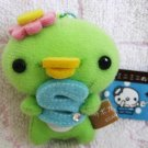 San-X Japan Sabokappa Plush Keychain (A) 2009 Kawaii