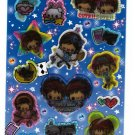 Pool Cool Japan Sweet Girls Sticker Sheet Kawaii