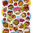 Crux Japan Cake Chan Epoxy Sticker Sheet (A) Kawaii