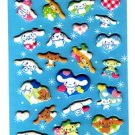 Sanrio Japan Cinnamoroll Heart Puffy Sticker Sheet 2009 Kawaii