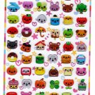 Q-Lia Japan Smile Bits Epoxy Sticker Sheet Kawaii