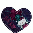 Sanrio Japan Hello Kitty Carnival Glitter Diecut Sticker 2007 Kawaii