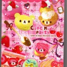 Q-Lia Japan Cafe Mode Party Mini Memo Pad Kawaii