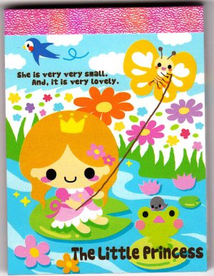 Q-Lia Japan The Little Princess Mini Memo Pad Kawaii