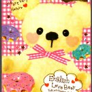 Crux Japan English Love Bear Mini Memo Pad Kawaii