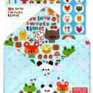 Daiso Japan We Love Sweets Time Letter Set with Stickers Kawaii