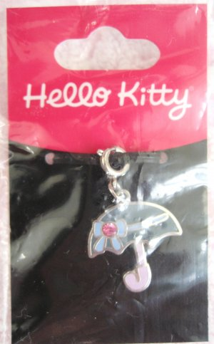 Sanrio Japan Hello Kitty Umbrella Charm 2005 Kawaii