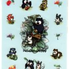 Sanrio Japan Pata Pata Peppy Owl Sticker Sheet (B) 1995 Kawaii