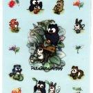 Sanrio Japan Pata Pata Peppy Owl Sticker Sheet (B) 1995 Kawaii