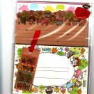 Crux Japan Sun Sun Sunday Letter Set with Stickers Kawaii
