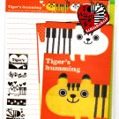 Crux Japan Tiger's Humming Letter Set with Stickers Kawaii