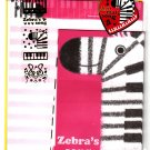 Crux Japan Zebra's Song Letter Set with Stickers Kawaii