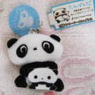 San-X Japan Tarepanda and Baby Plush Strap New with Tag 2008 Kawaii