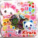 Q-Lia Japan Kirara Biscuit Jewel Sticker Sack Kawaii