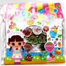 Q-Lia Japan Pastry Shop Jewel Sticker Sack Kawaii