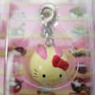 Sanrio Japan Hello Kitty Rabbit Mochi Mascot Charm New in Box 2007 Kawaii