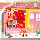 Q-Lia Japan French Sesame Letter Set Kawaii