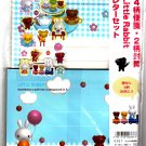 Wizard Japan Little Rabbit Letter Set with Stickers (A) Kawaii