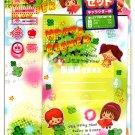 Komoda Japan Happy Clover Letter Set with Stickers Kawaii