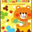 Q-Lia Japan Hachimitsu Milk Mini Memo Pad Kawaii