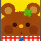 Kamio Japan Wonderful Friends Mini Memo Pad (Bear) Kawaii