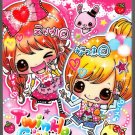 Kamio Japan Twinkle Girls Mini Memo Pad Kawaii