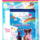 Lemon Japan Love is Life Letter Set with Stickers Kawaii