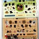 San-X Japan Kutusita Nyanko Letter Set with Full Sheet of Stickers 2010 Kawaii