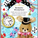 Kamio Japan Romantic Wonderland Memo Pad Kawaii