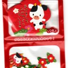 Sakura Japan Year of the Cow Washi Paper Sticker Sack (F) Kawaii