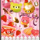 Q-Lia Japan Bear's Cafe Mode Mini Memo Pad Kawaii