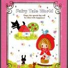 Kamio Japan Fairy Tale World Mini Memo Pad (A) Kawaii