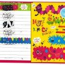 Mind Wave Japan Moja Moco Family Letter Set with Stickers Kawaii