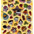 Crux Japan Onigiri Riceball Puffy Sticker Sheet Kawaii