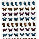 Mind Wave Japan Butterflies Sticker Sheet Kawaii
