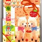 Crux Japan Fuwa Fuwa Arupaka Letter Set with Stickers Kawaii