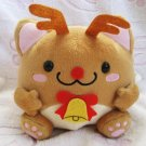 Maruneko Club Japan Christmas Plush (Reindeer) New with Tag Kawaii