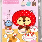 San-X Japan Kireizukinseikatu Memo Pad with Stickers (D) Kawaii