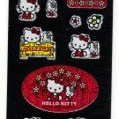 Sanrio Japan Hello Kitty and Friend Sticker Sheet 2000 Kawaii