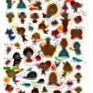 Crux Japan Dream of Life Puffy Sticker Sheet Kawaii