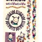 Sanrio Japan Pochacco Temporary Tattoos Sheet 1998 Kawaii