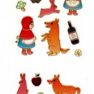 Foron Japan Fairy Tales Sticker Sheet (B) Kawaii