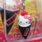 Sanrio Japan Hello Kitty Hand Roll Mascot Charm New in Box 2005 Kawaii
