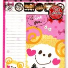 Crux Japan Moko Moko Sheep Letter Set with Stickers Kawaii