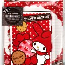 Sanrio Japan My Melody I Love Candy Letter Set with Stickers by Sun Star (A) 2010 Kawaii