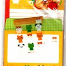 Point Inc. Japan Hum's School Life Letter Set with Stickers and Plush Strap Kawaii