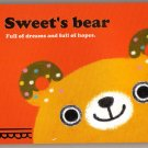 Crux Japan Sweet's Bear Mini Memo Pad Kawaii